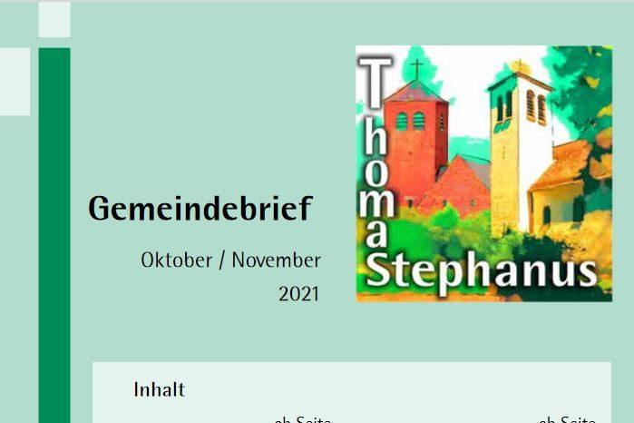 Symbolbild: Aktueller Gemeindebrief
